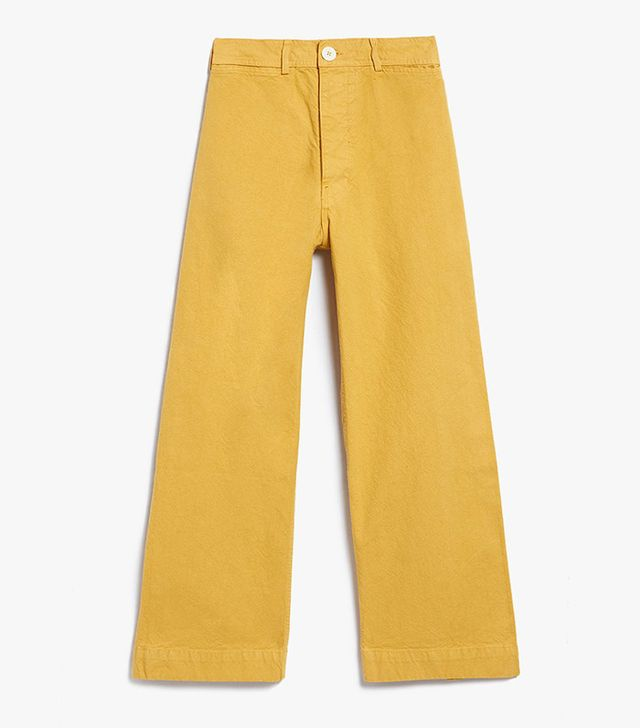 how to wear yellow pants