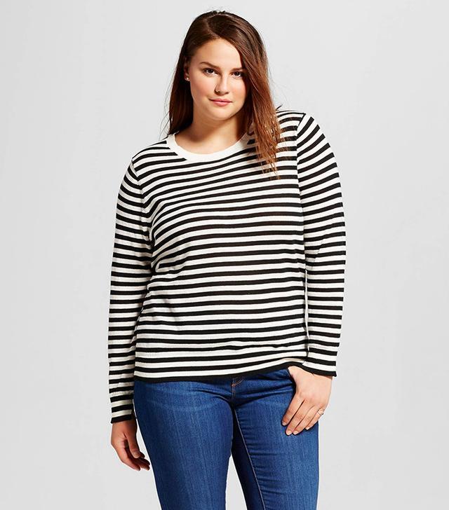 stylish striped sweater