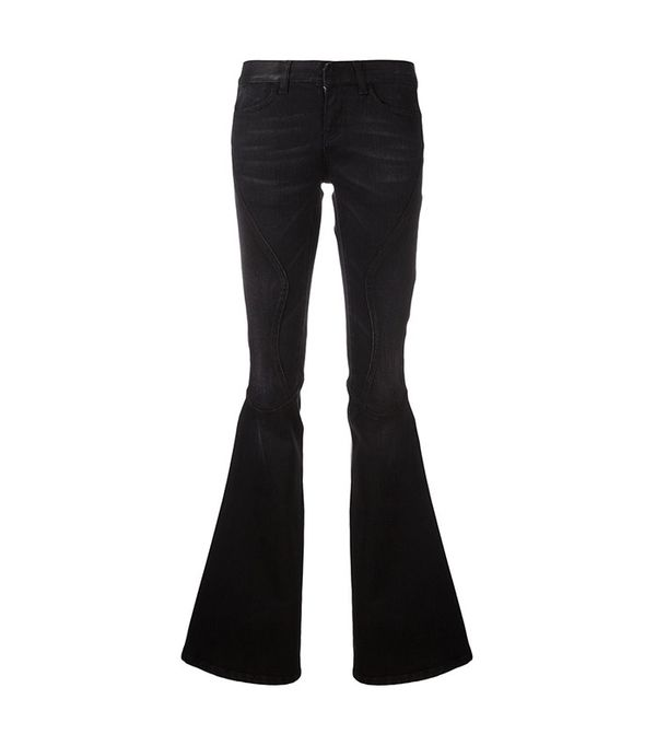 black flared jeans - Faith Connexion Flared Jeans