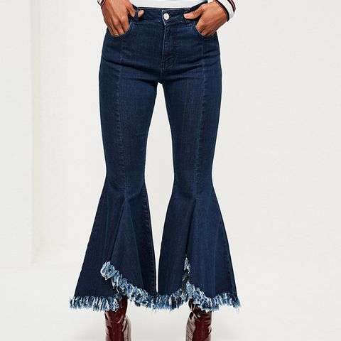 Extreme Flare Skinny Jeans