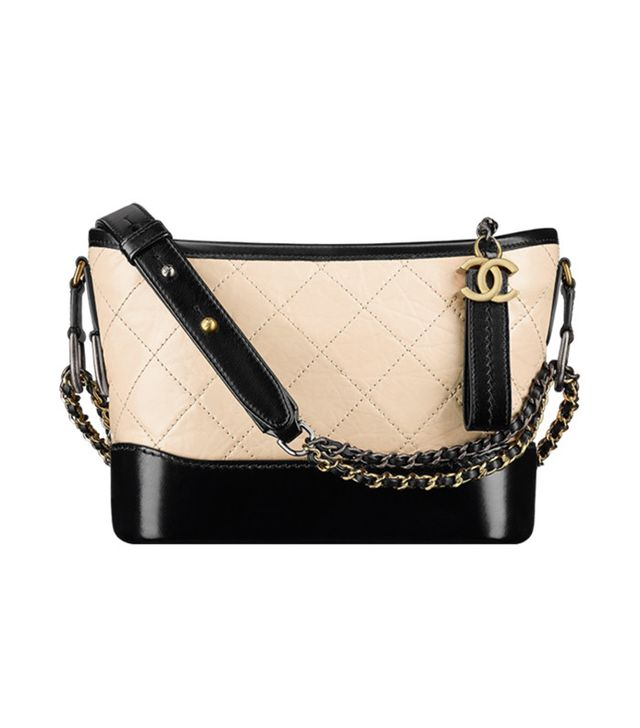 it bag - Chanel Gabrielle Small Hobo Bag black tan