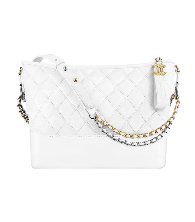 it bag - Gabrielle Hobo Bag white