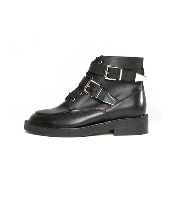edgy ankle boots