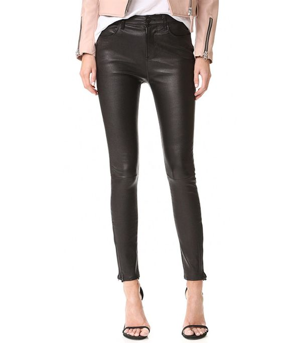 comfortable leather pants