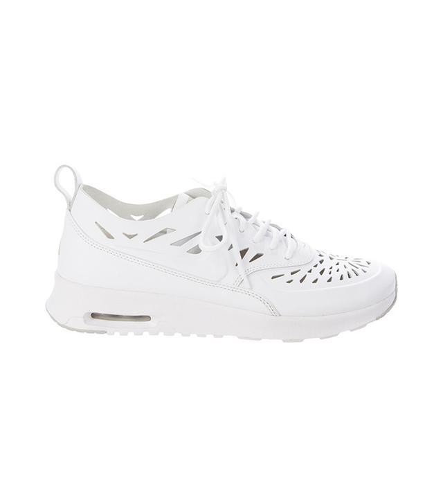 nike white air max sneakers