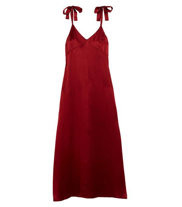 Reformation Silk Maxi Dress