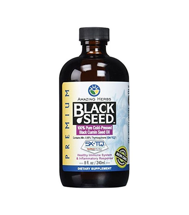 Amazing Herbs Black Seed Cold-Pressed Oil