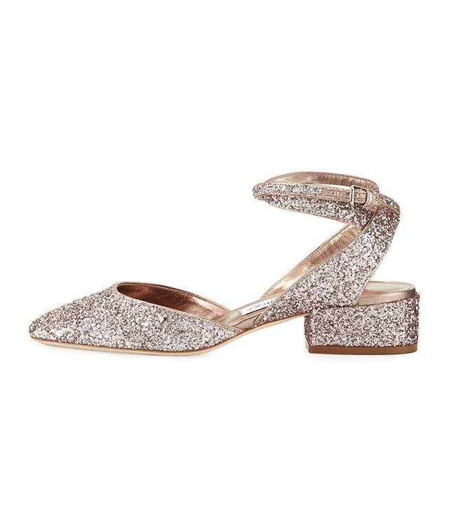 best glitter ballet flats