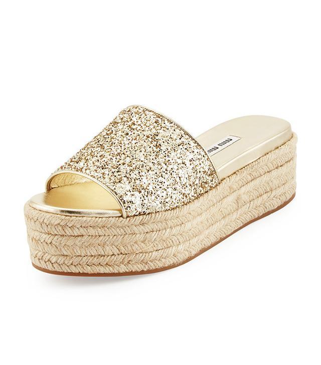 best gold platform sandals