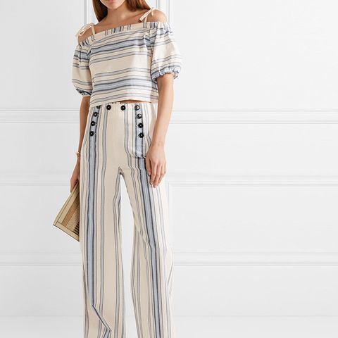 Halima Wide-Leg Pants