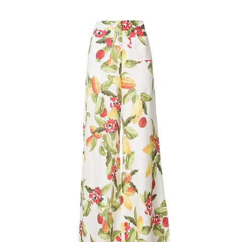 Isolda Fruit Flared Pants