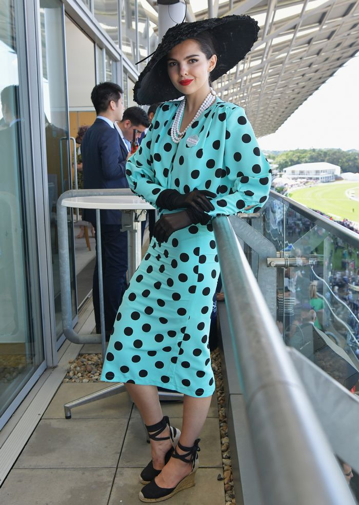 What to wear to the races: Doina at Royal Ascot