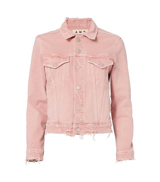 AMO Pop Pink Denim Light Jacket
