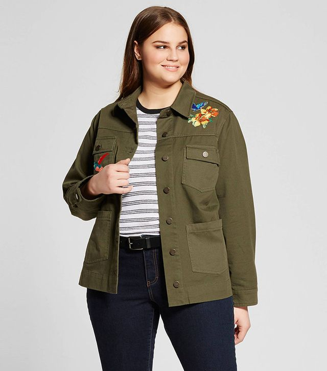 Who What Wear Collection Patchwork Jacket