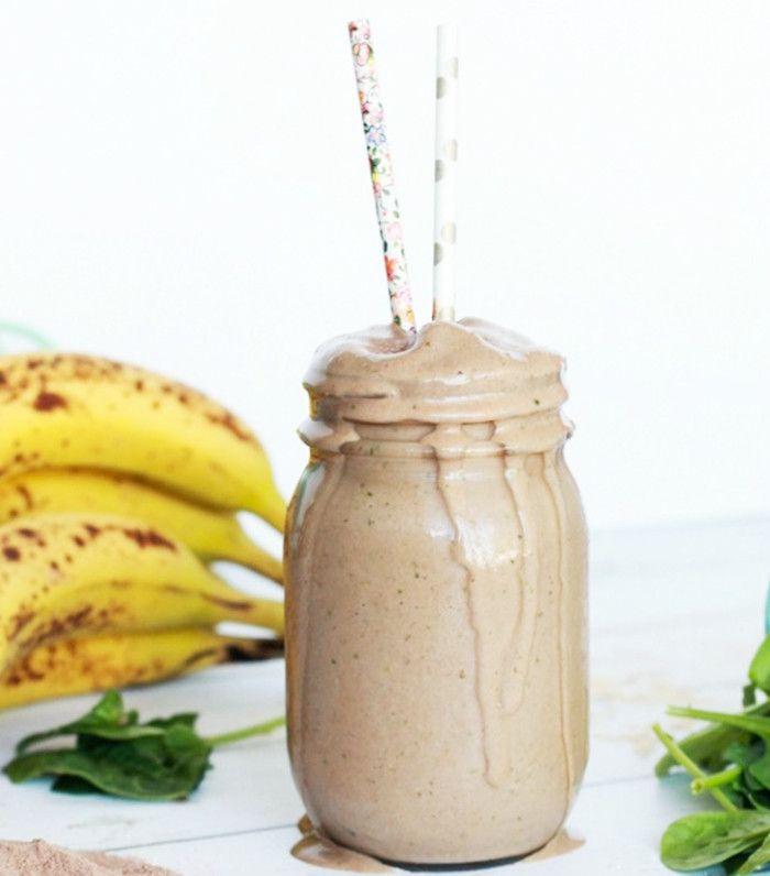 peanut butter vanilla smoothie