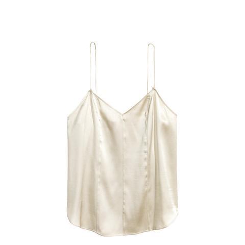 Silk V-Neck Camisole