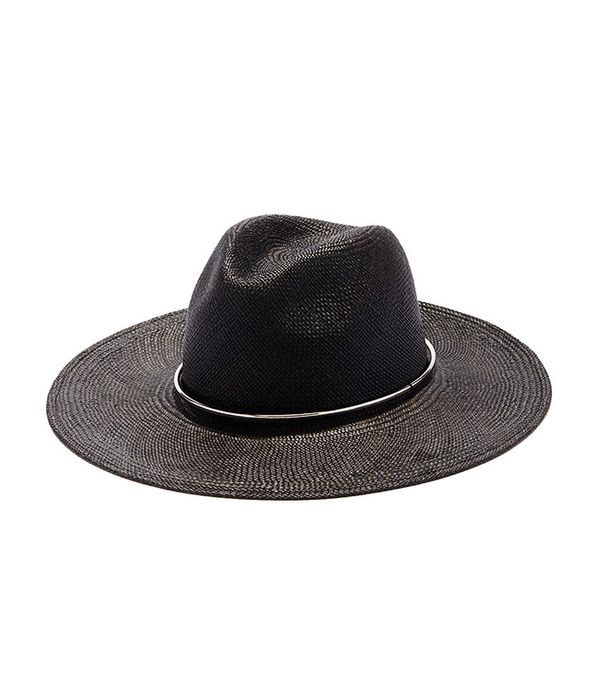 straw black hat