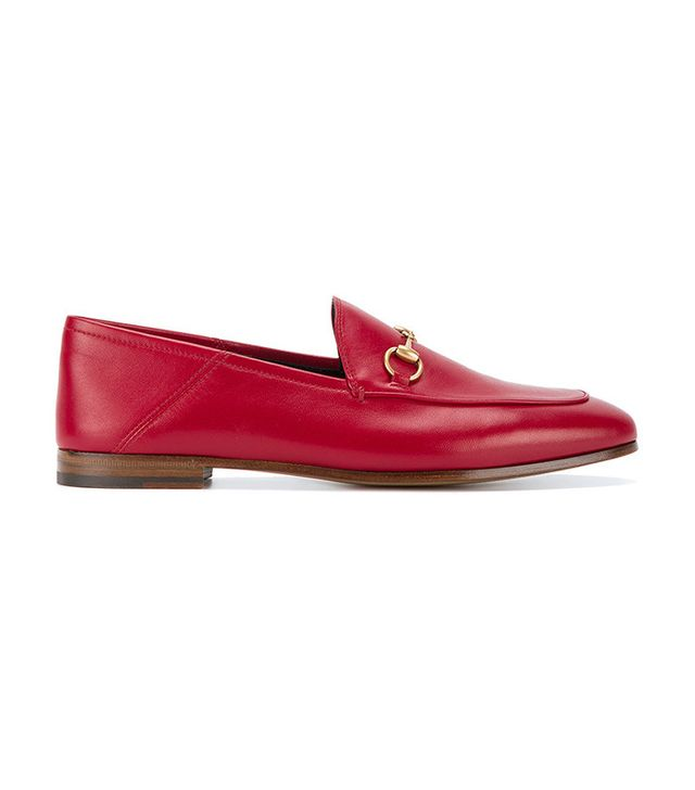 best red loafers