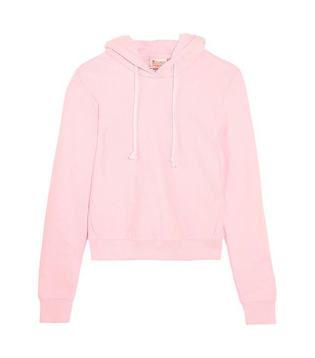pink vetements sweatshirt