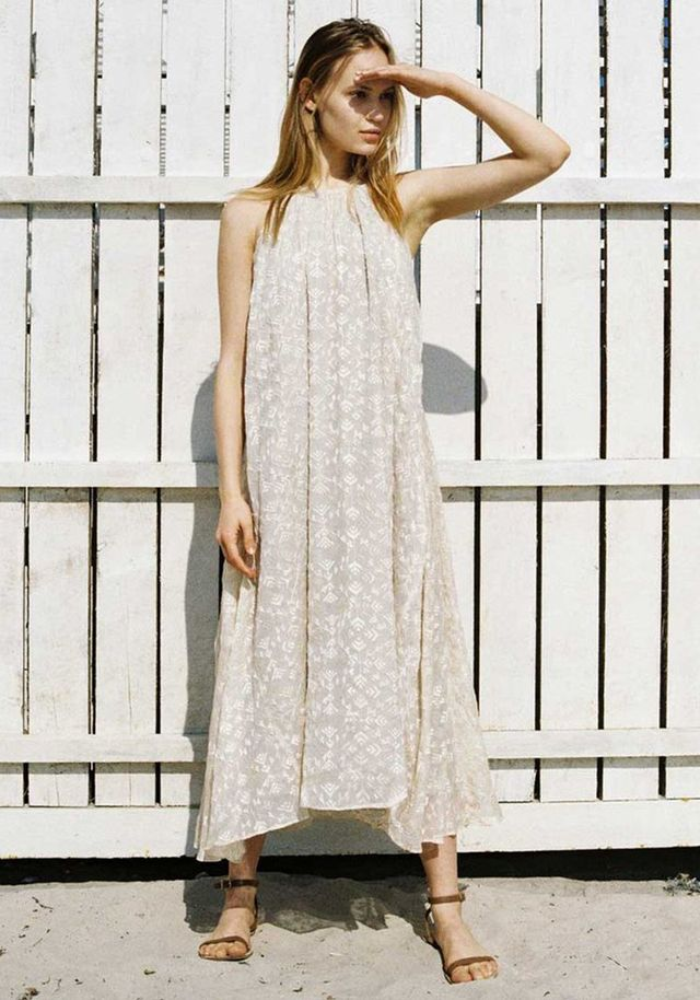 Best embroidered loose dress