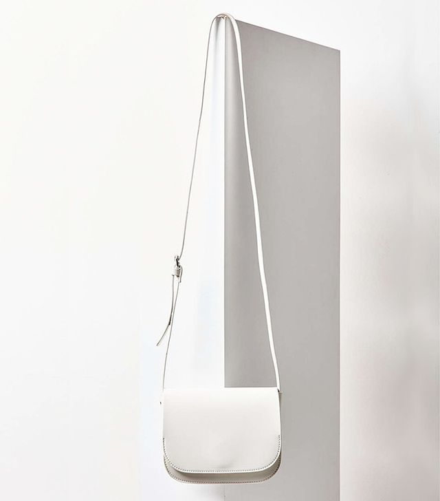 white crossbody bag