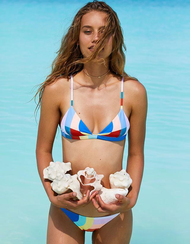 Mara Hoffman Meridian Triangle Bikini