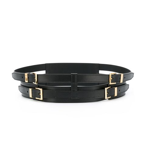 Buckled Double Belt