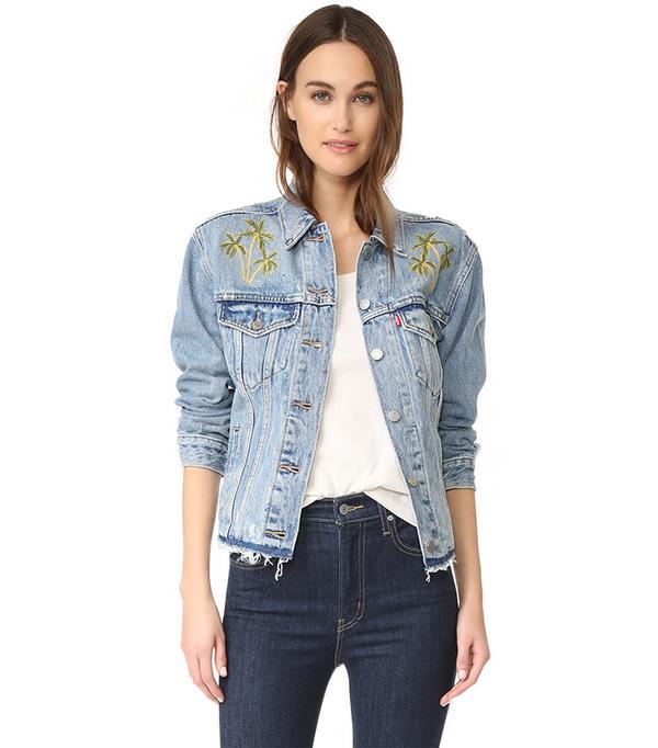 cute jean jackets - Levi's Ex-Boyfriend Trucker Jackets