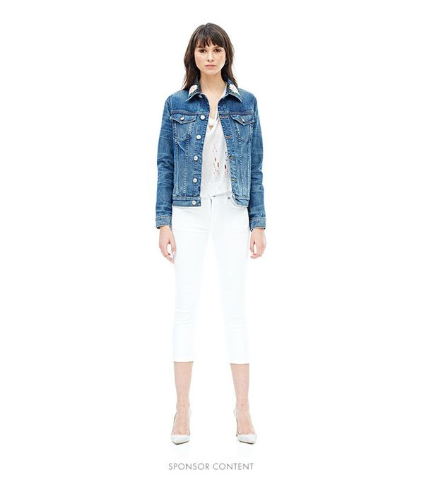 cute jean jackets for Coachella - Hudson Classic Denim Jacket