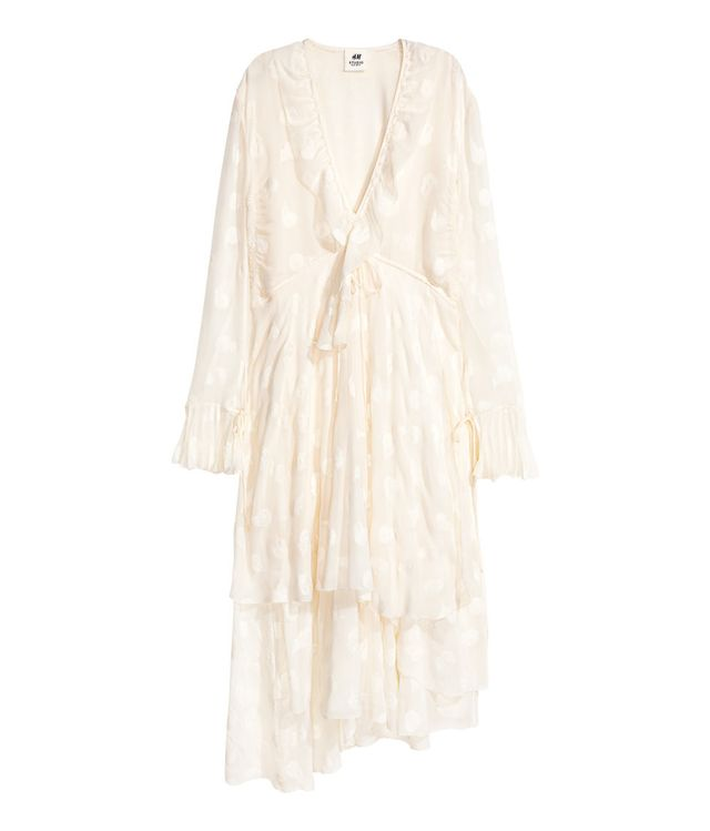 H&M Silk Blend Dress ($250)