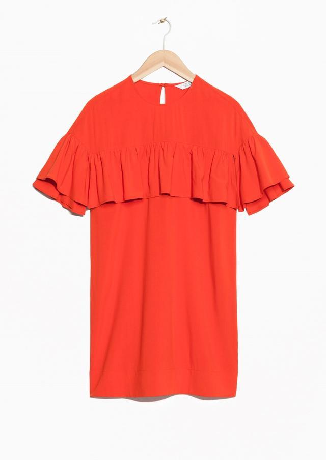 &OtherStories Flounce Dress($108)