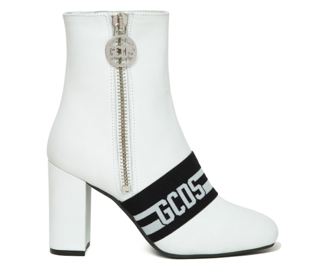 Best white boots—GCDS White Booties