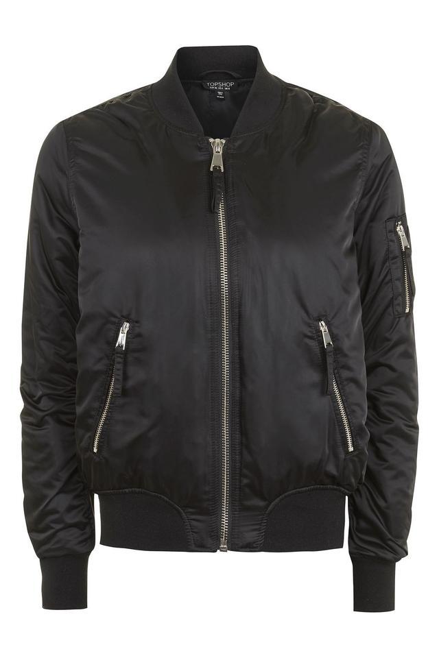 Best classic bomber jacket—Topshop Bomber Jacket