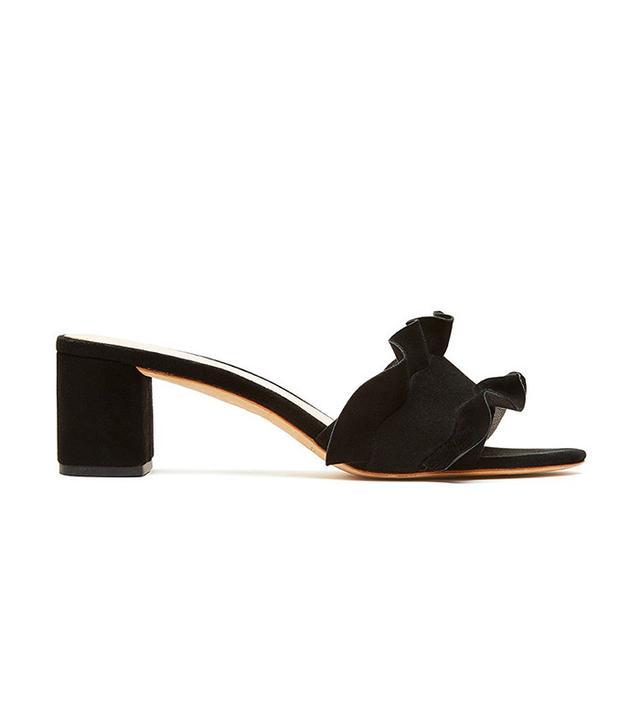 best ruffled slide sandal