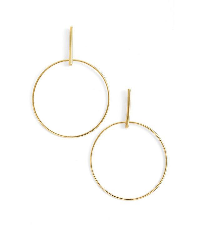 best front hoop earrings