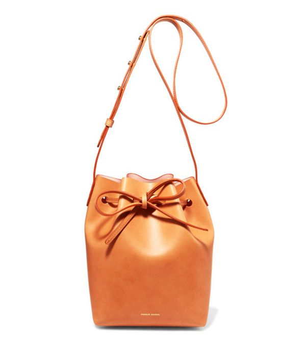 Net a porter new-in: Mansur Gavriel bag