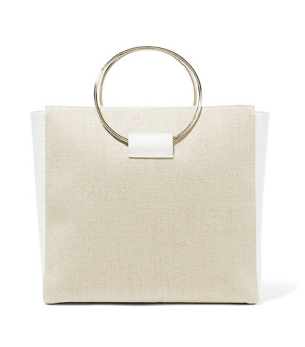 Net a porter new-in: Little Liffner tote bag