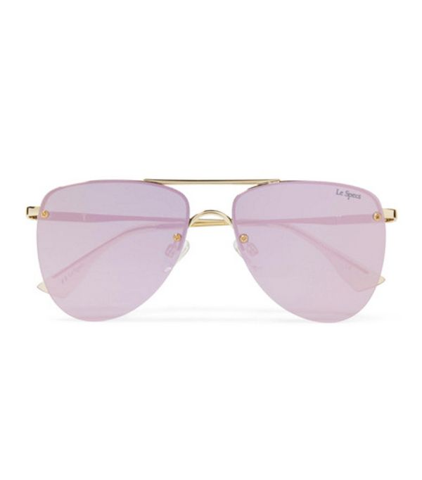 Net a porter new-in: Pink sunglasses