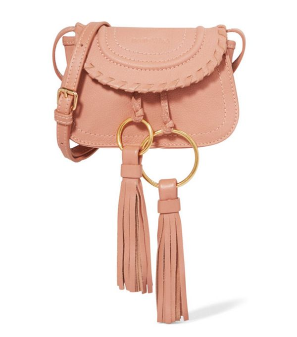 Net a porter new-in: See by Chloe tasseled shoulder bag