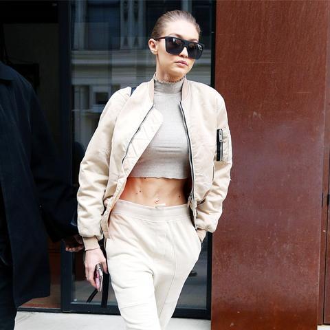 Gigi Hadid style: Topshop cropped top