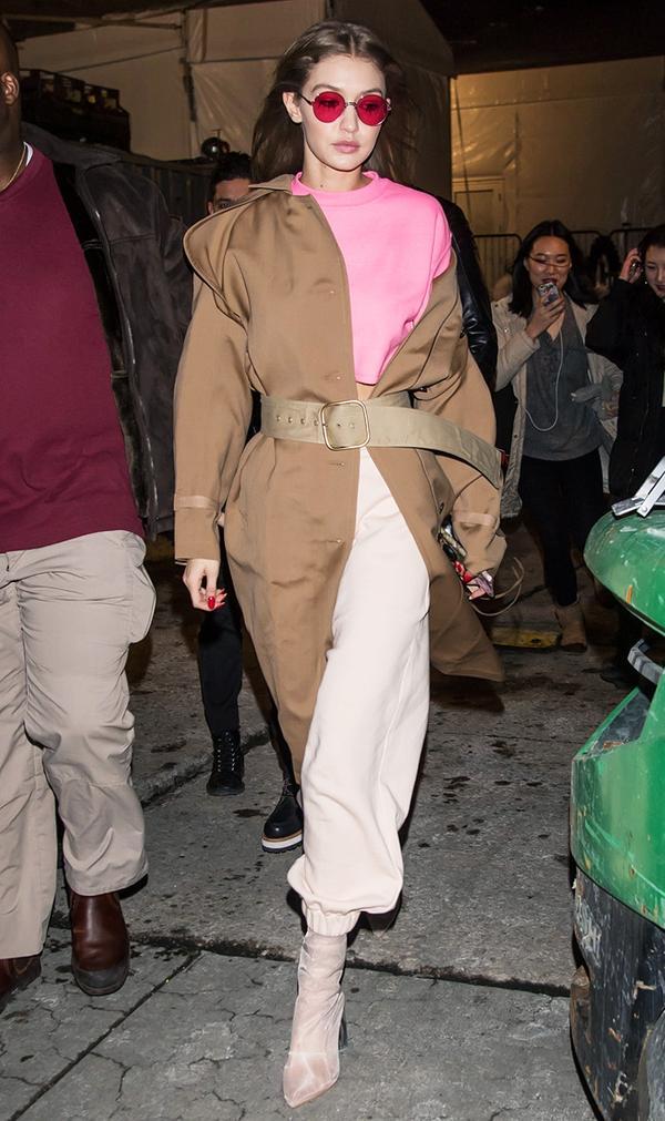 Gigi Hadid style: Ego Perspex boots