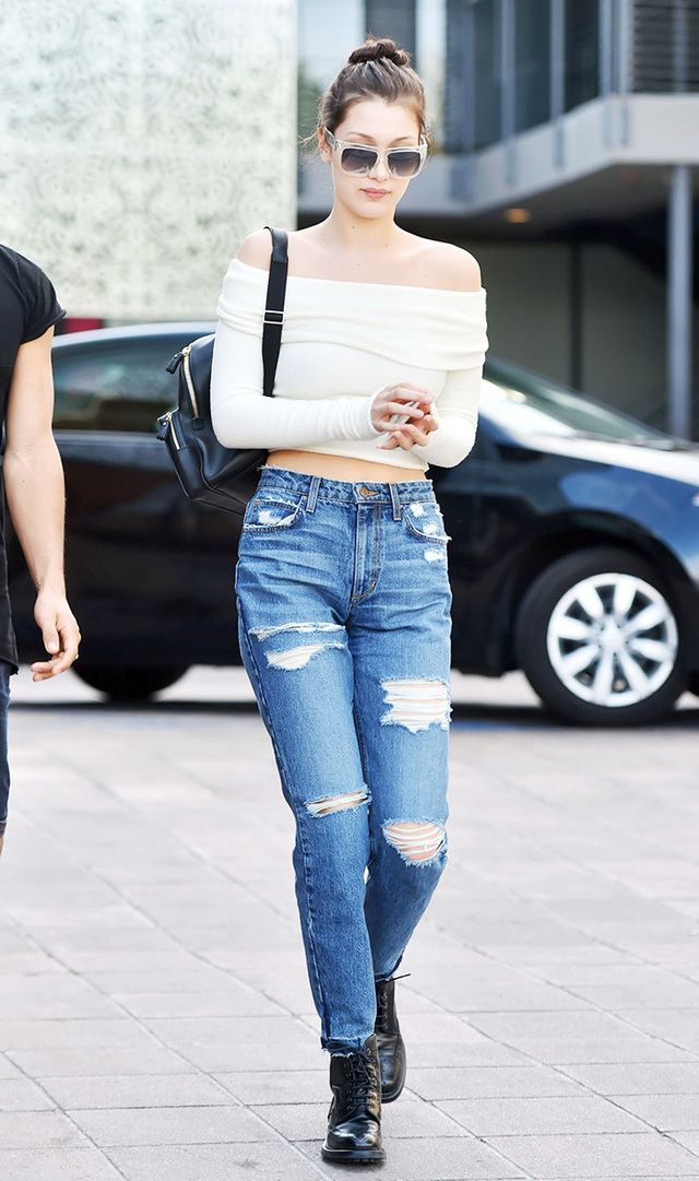 ways to wear boyfriend jeans