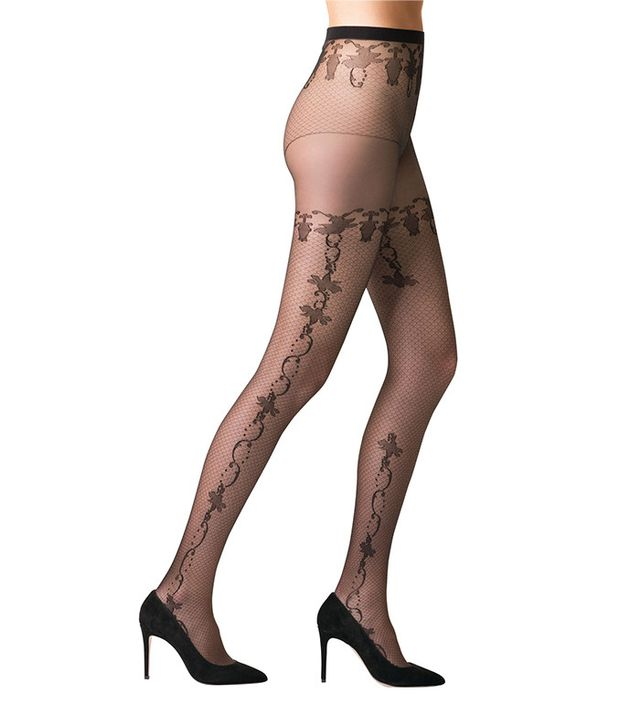 spring florals - Fogal Iman 1102 Tights
