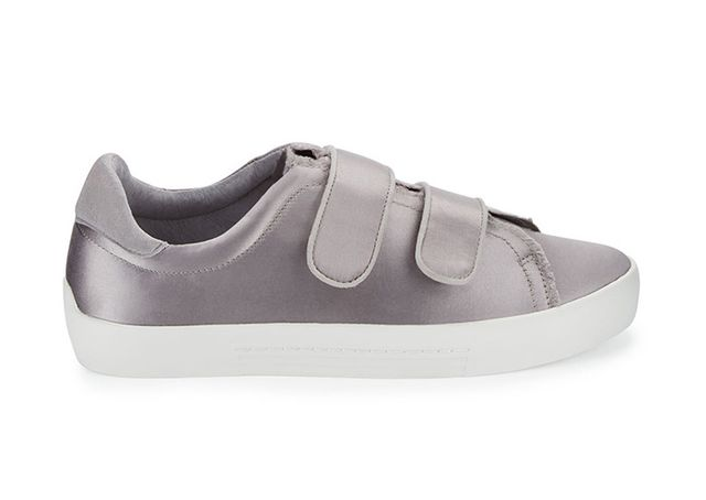best velcro sneakers- Joie Diata Satin Grip-Strap Sneakers