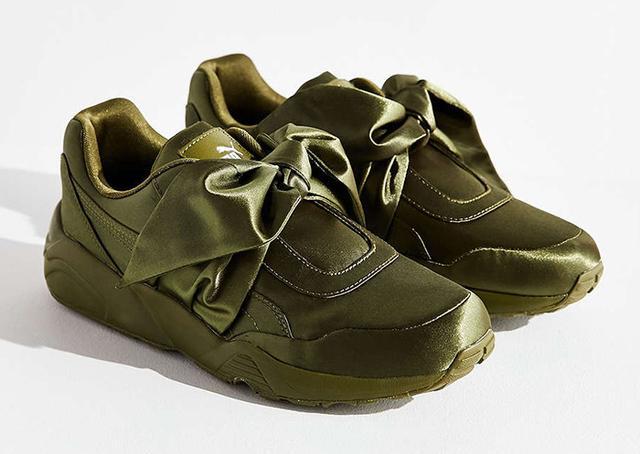 best satin sneakers- Fenty Puma by Rihanna Satin Bow Sneakers