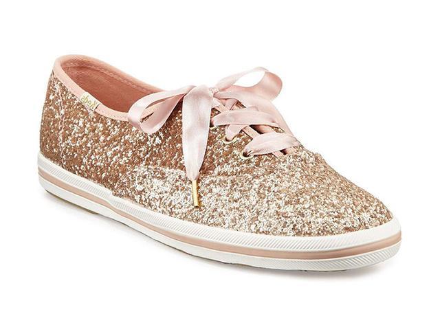 best glitter sneakers- Keds x Kate Spade New York Champion Glitter Sneakers