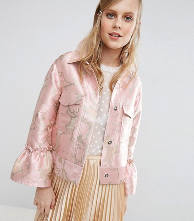 Asos Jacket in Occasion Jacquard