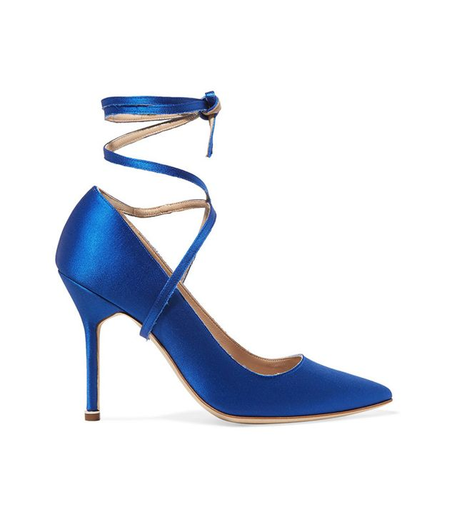 best blue heels