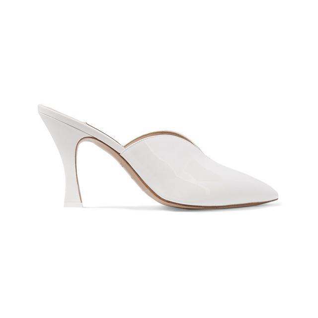 best white heels