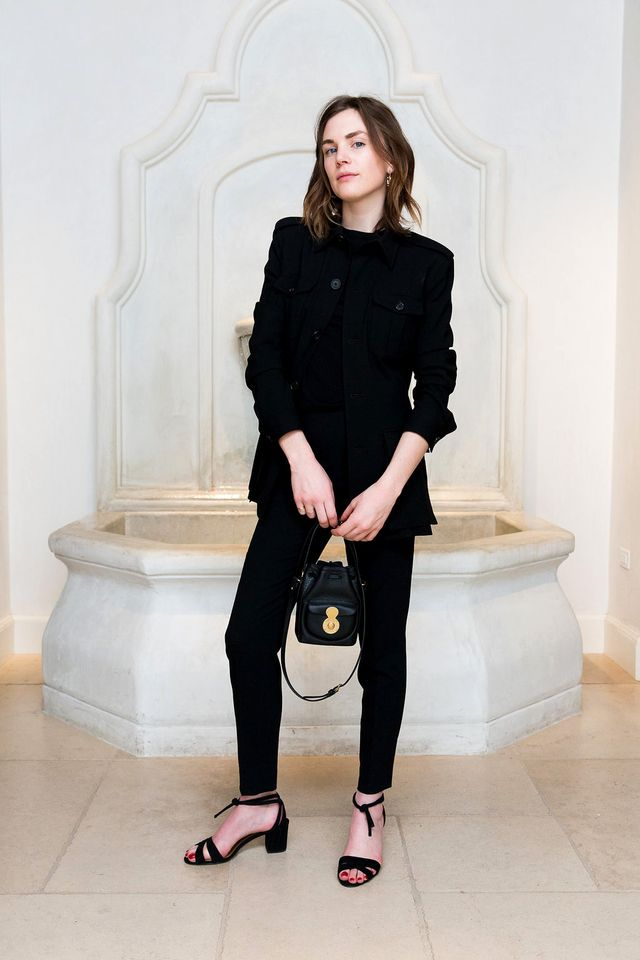 """Furlong, art director at Wide Eyed Legless, has an affinity formonochromatic looks, which really shines through in this Ralph Lauren look. Her advice for following suit? """"I found one piece I..."""